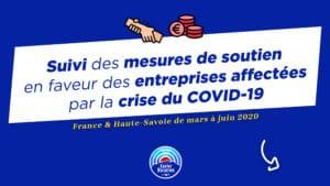 Suivi des mesures de soutien en faveur des entreprises affectées par la crise du COVID-19