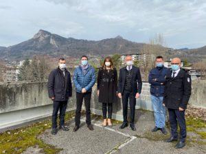 Echanges avec le maire Jean-Philippe Mas sur les projets pour Cluses