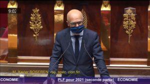 🎥🏛️🗣️  Intervention dans l'hémicycle ce samedi 7 novembre pour la mission Économie du PLF 2021