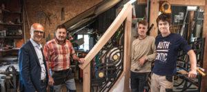 L'Atelier Saint-Martin (Morillon) présentera son travail à l'Élysée !