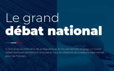 Grand débat national : Xavier Roseren se mobilise