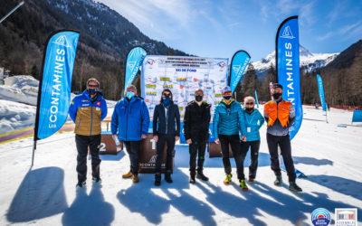 Championnats de France de ski de fond et biathlon aux Contamines-Montjoie