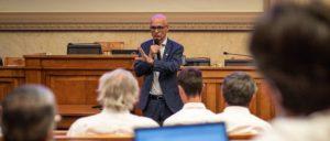 Les guides de montagne invités par Xavier Roseren à l'Assemblée nationale pour sensibiliser sur le changement climatique !