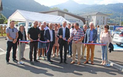 Inauguration du parking relais multimodal à Passy