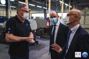 🔩🤝 Rencontre avec le nouveau président du SNDEC Alain Appertet et visite de son entreprise SUNAP