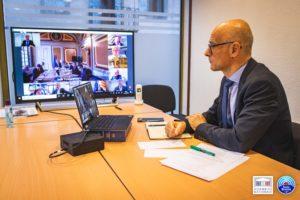 Xavier Roseren interpelle de vive voix le Premier ministre sur Noël et la fermeture des remontées mécaniques