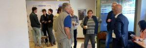 Xavier Roseren rencontre les citoyens à la permanence à Sallanches