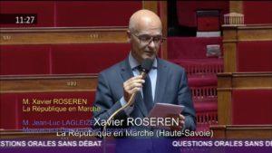 Xavier Roseren interpelle le gouvernement sur l'accompagnement des entreprises du décolletage de la vallée de l'Arve