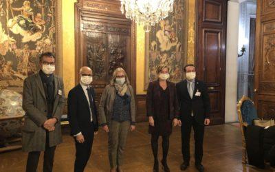 Quatre députés de la majorité et le président de DSF défendent la montagne française à l'Elysée