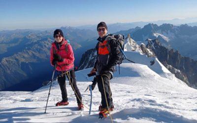 Le député Xavier Roseren a gravi le Mont-Blanc
