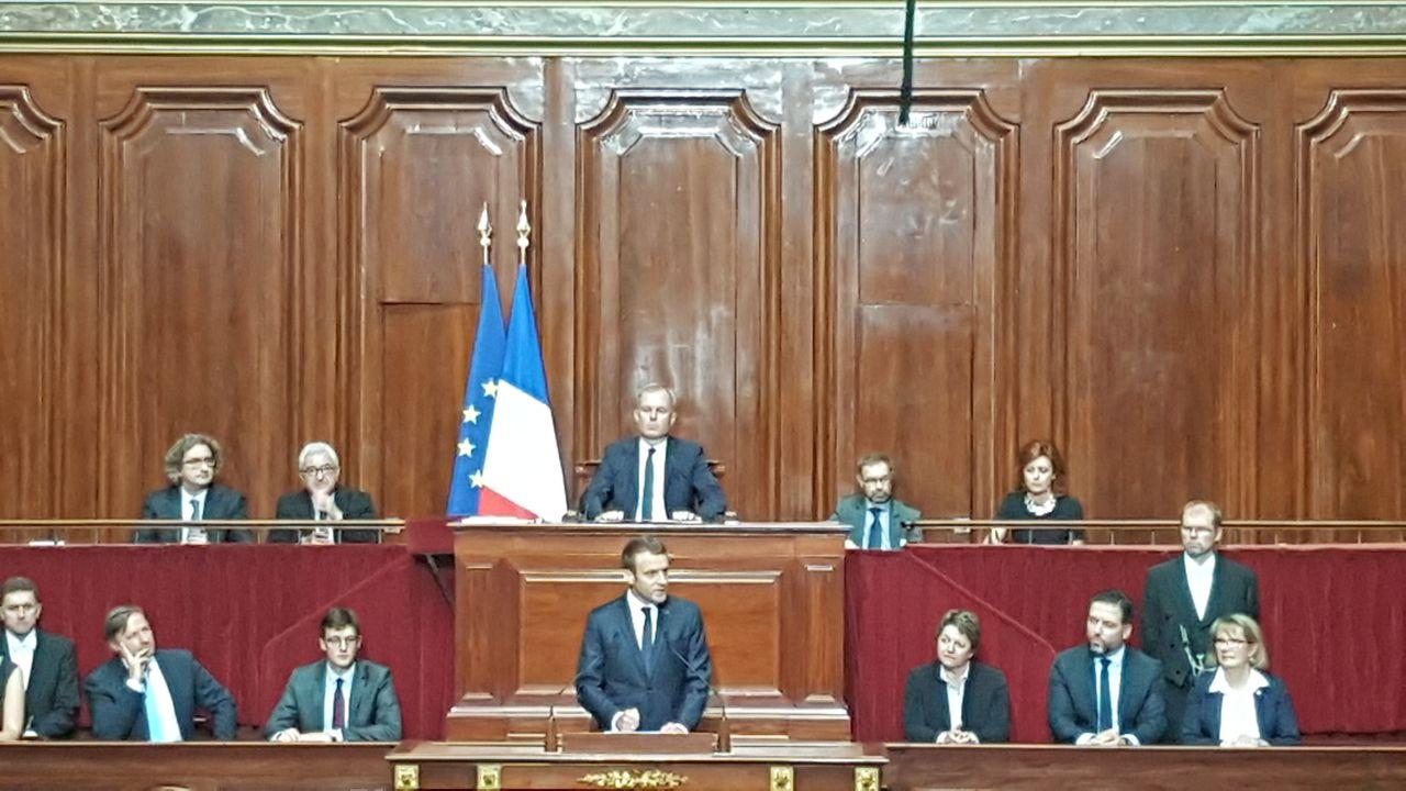 Discours du Président Macron à Versailles