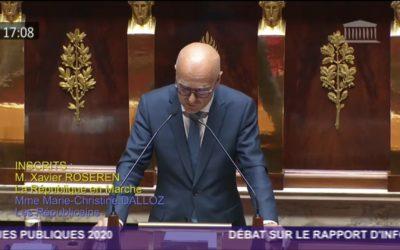 Intervention de Xavier Roseren dans le cadre du Printemps de l'évaluation à l'Assemblée nationale